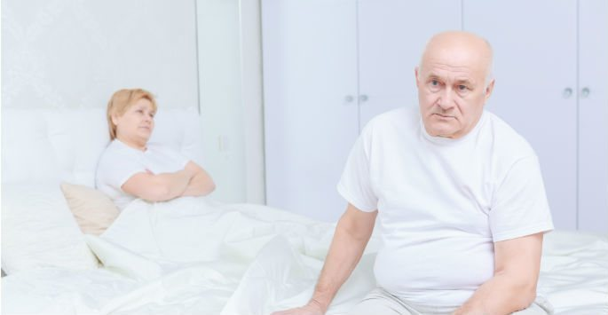 reduced libido in an older man