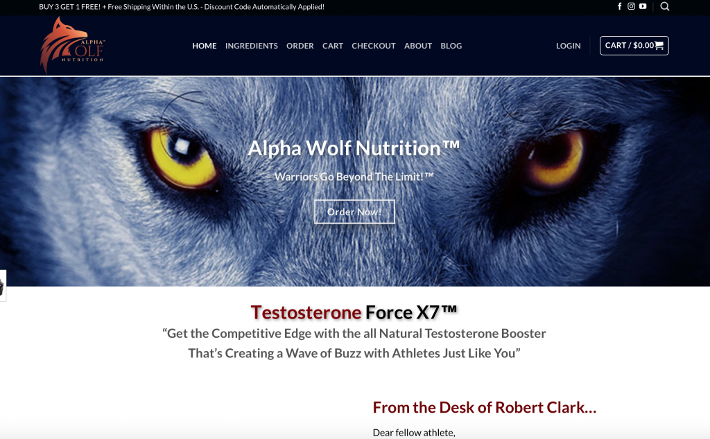 alpha wolf website uk