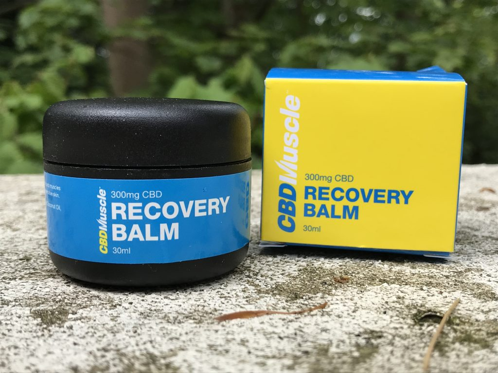 cbd muscle recovery balm